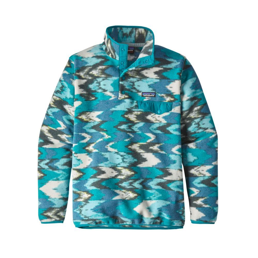 Patagonia Women's Lightweight Synchilla Snap-T Fleece Pullover TTEB_BLUE