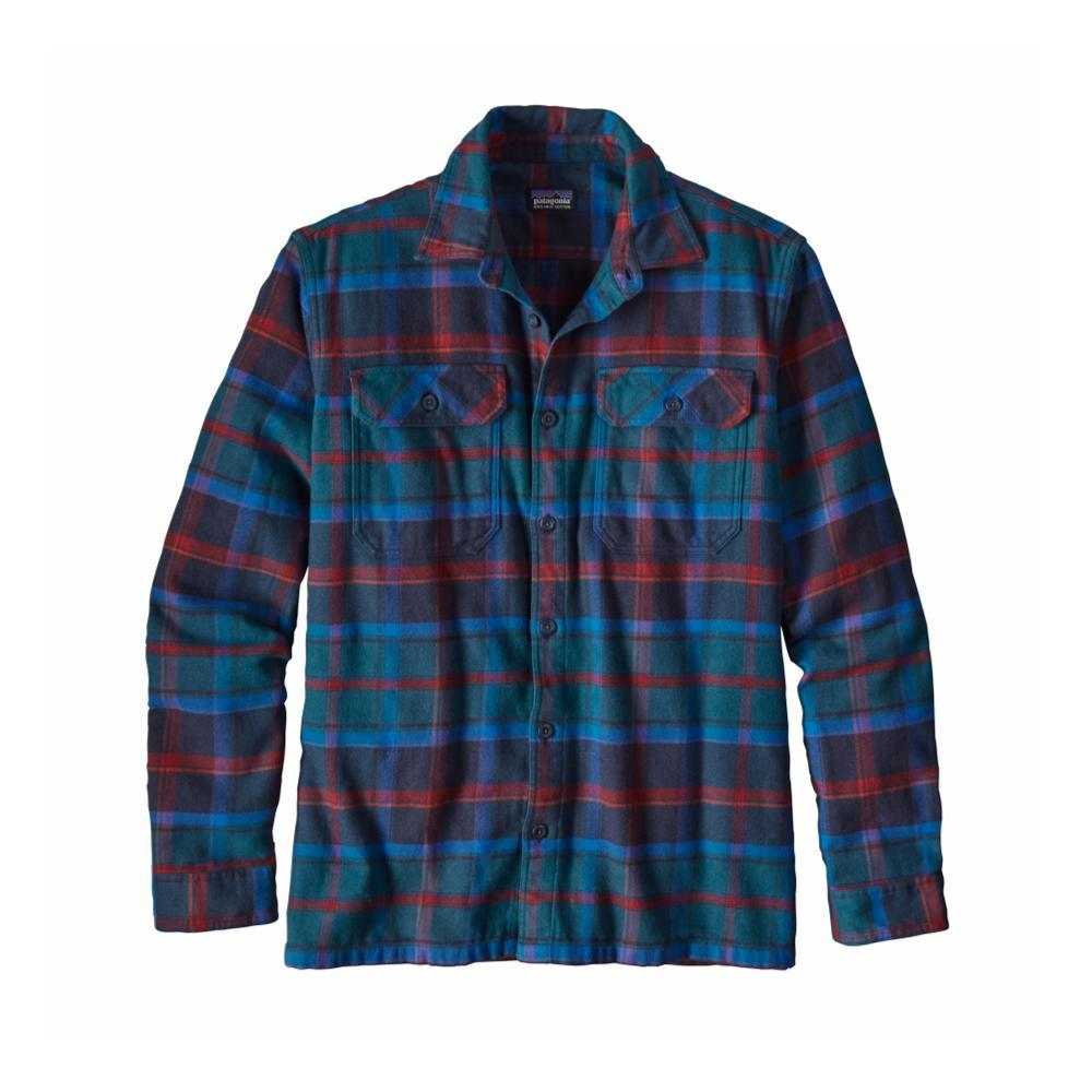 Patagonia Men's Long-Sleeved Fjord Flannel Shirt BSBR_BLUE