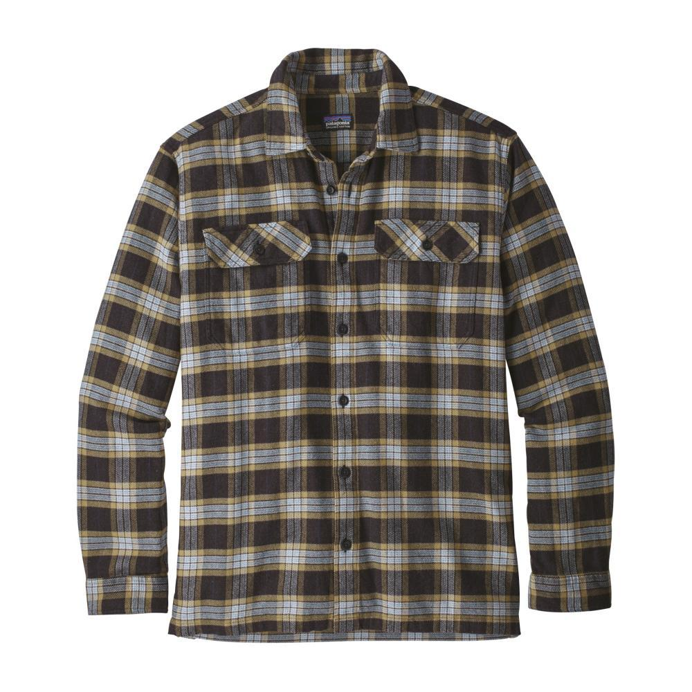 Patagonia Men's Long-Sleeved Fjord Flannel Shirt MISB_BLACK