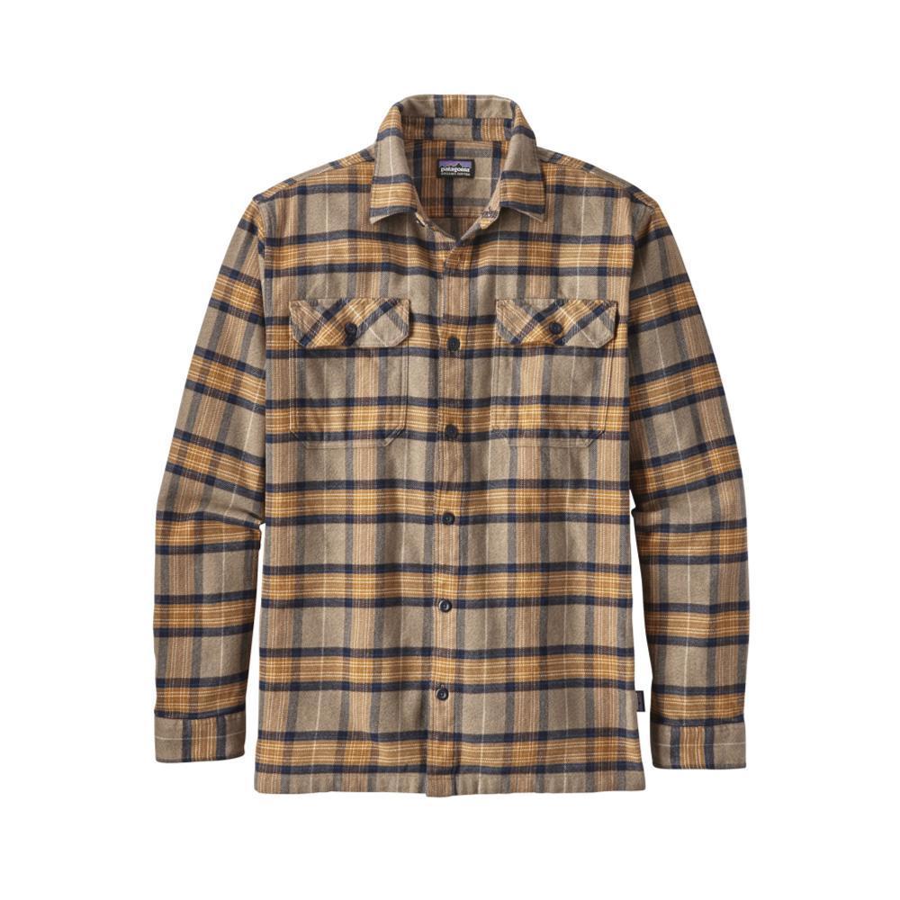 Patagonia Men's Long-Sleeved Fjord Flannel Shirt MMJV_KHAKI