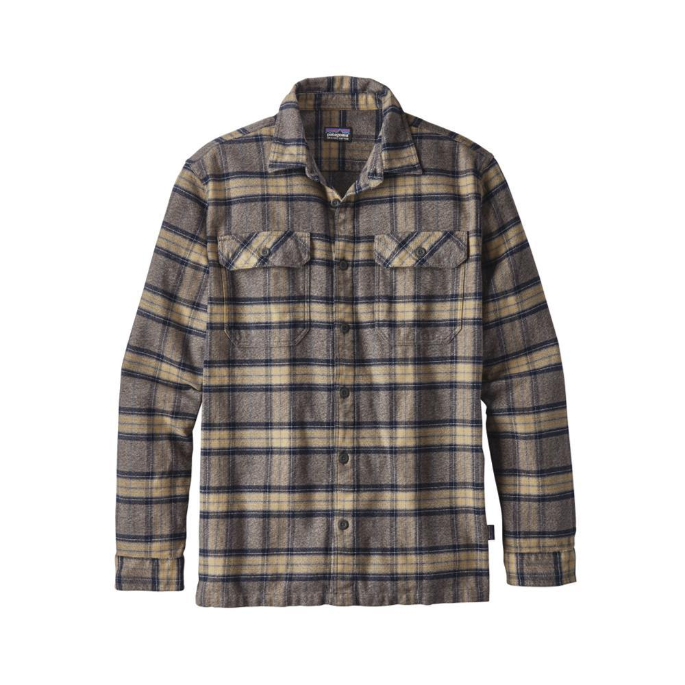 Patagonia Men's Long-Sleeved Fjord Flannel Shirt MPFG_GREY