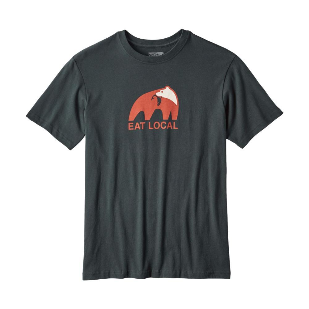 Patagonia Men's Eat Local Upstream Cotton T-Shirt CARBON_CAN