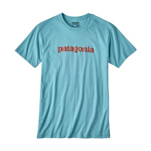 Patagonia Men's Text Logo Cotton/Poly T-Shirt
