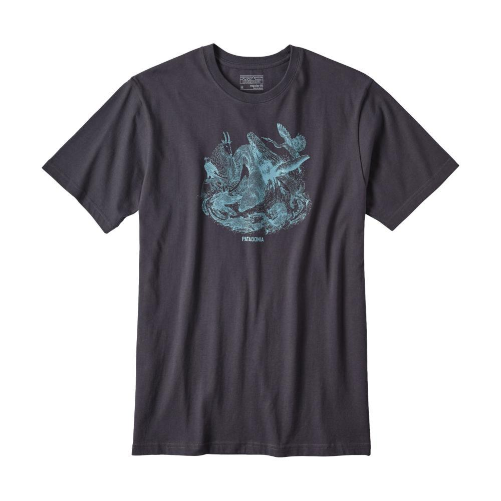 Patagonia Men's Keystone Species Organic Cotton T-Shirt SBLUE_SMDB