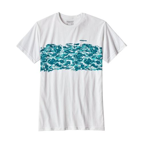 Patagonia Men's Wild Rapid Band Cotton/Poly T-Shirt
