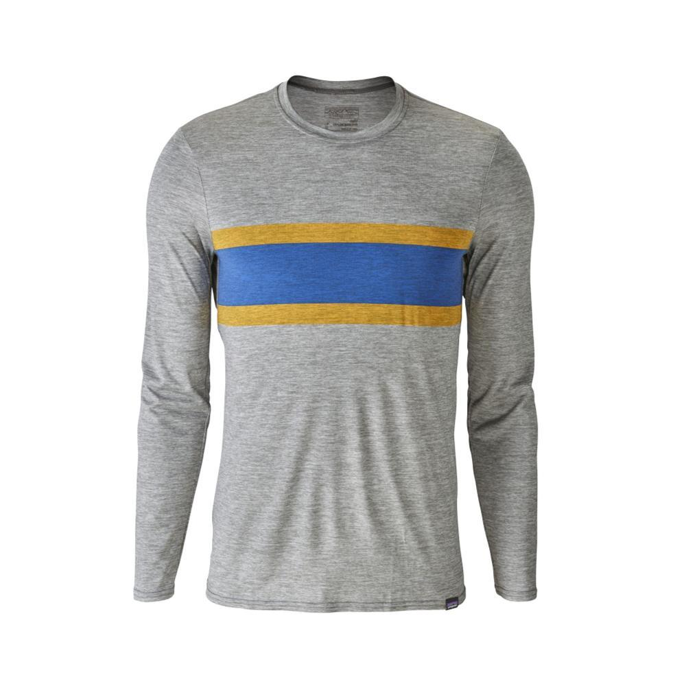 Patagonia Men's Capilene Daily Long-Sleeved Graphic T-Shirt FGREY_RSFE