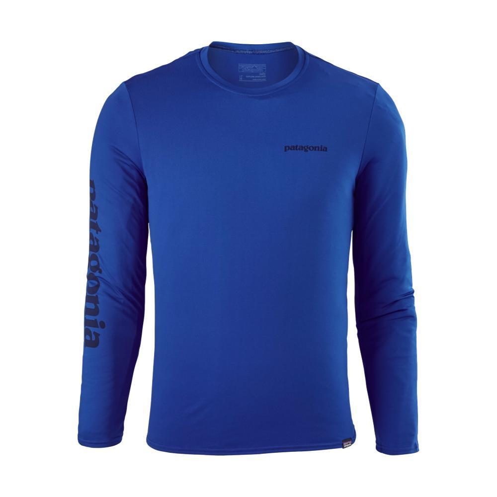 Patagonia Men's Capilene Daily Long-Sleeved Graphic T-Shirt VBLUE_TXVK