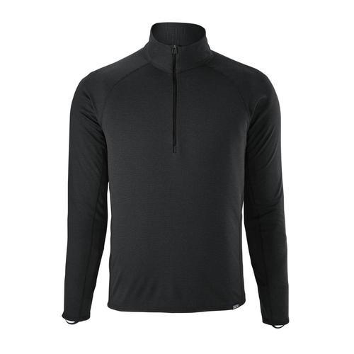 Patagonia Men's Capilene Midweight Zip-Neck Black_blk