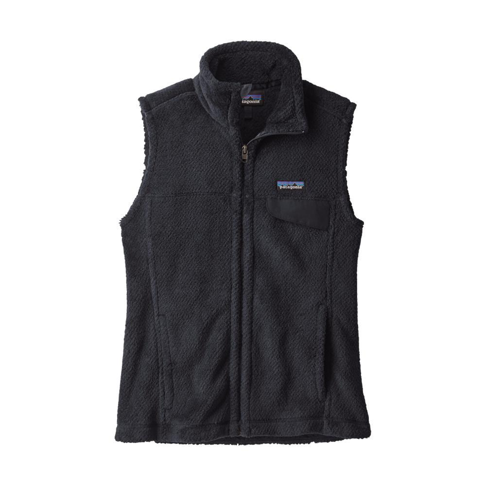 Patagonia Women's Full-Zip Re-Tool Fleece Vest BLK