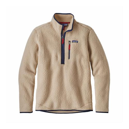 Patagonia Men's Retro Pile Fleece Pullover Elkh_khaki