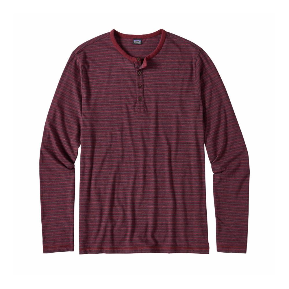 Patagonia Men's Long-Sleeved Daily Henley LCDF_RED