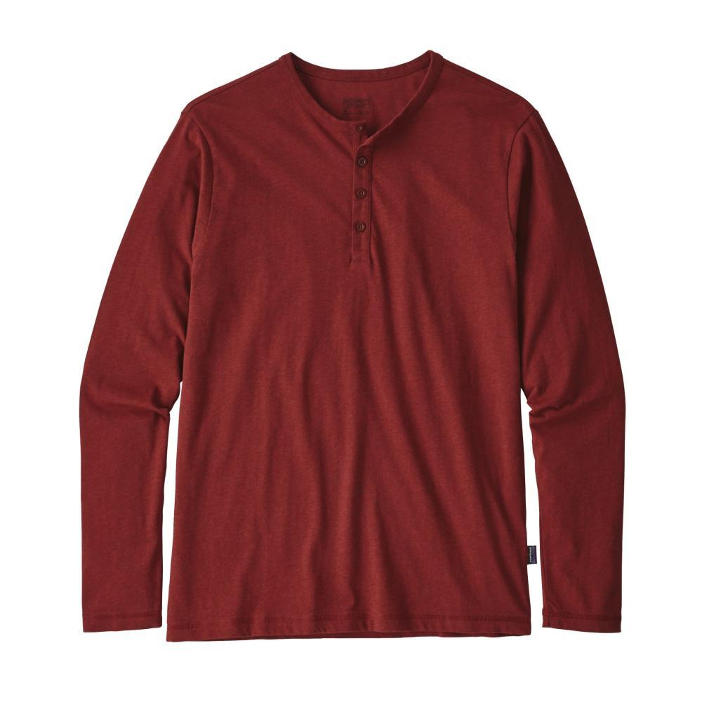 Patagonia Men's Long-Sleeved Daily Henley OXDR_RED