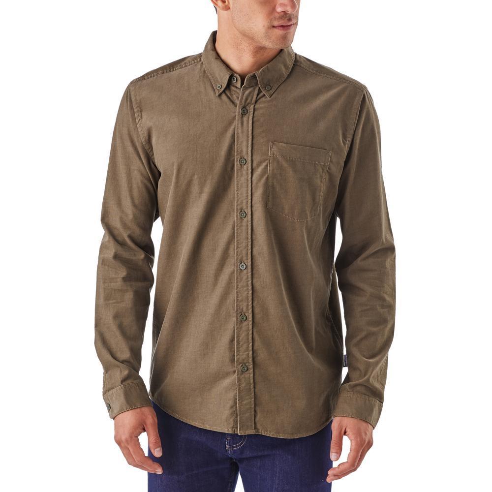 Patagonia Men's Long-Sleeved Bluffside Cord Shirt DKAS_ASH