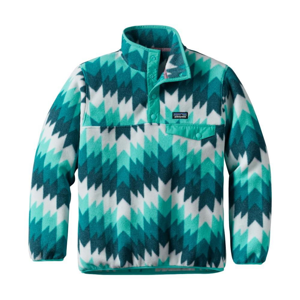 Patagonia Girls Synchilla Snap-T Pullover BLUEZGSB
