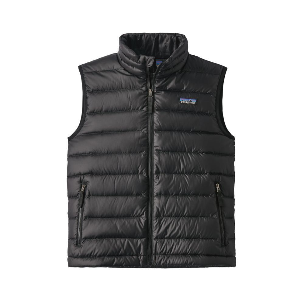 Patagonia Boys Down Sweater Vest BLACKBLK