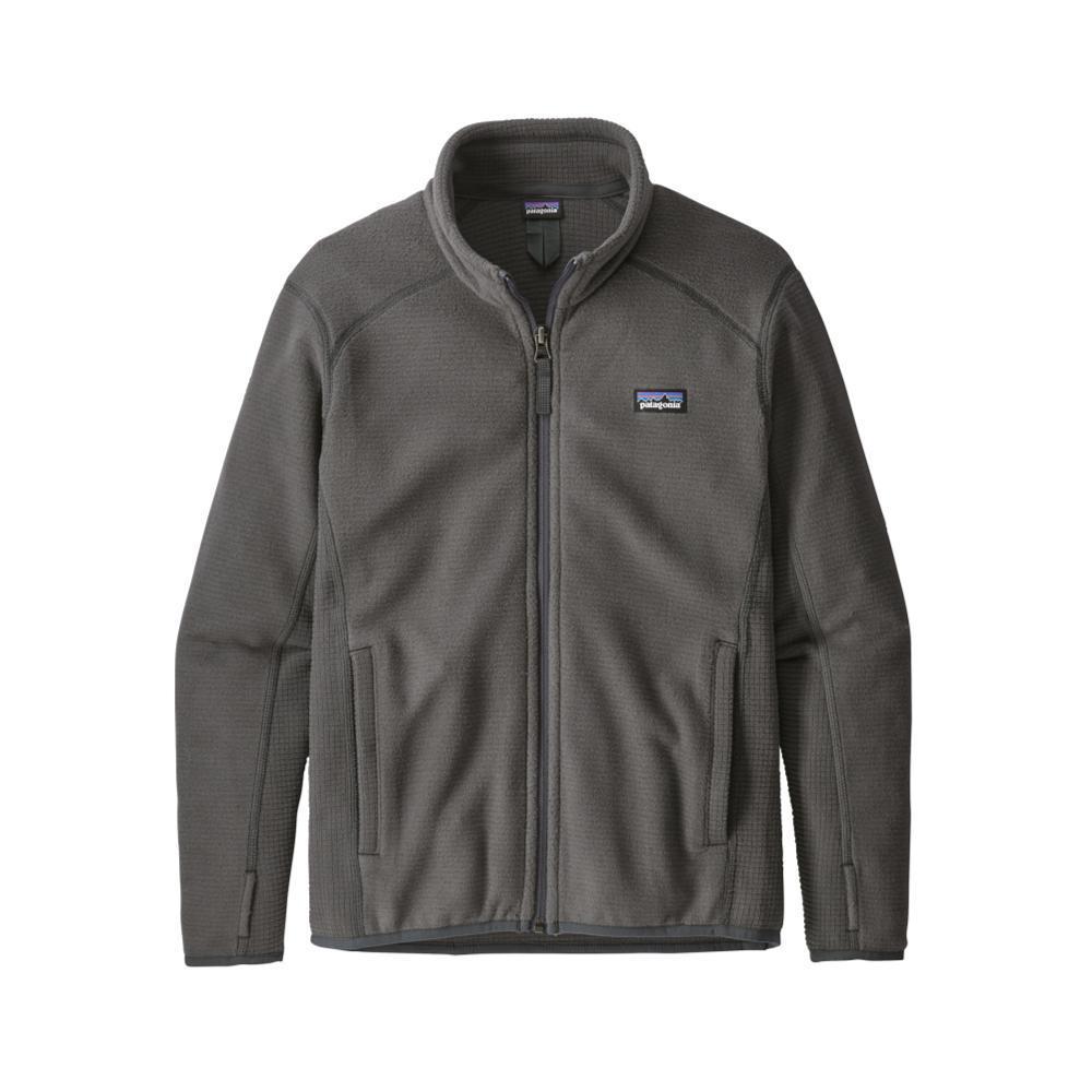 Patagonia Boys Radiant Flux Fleece Jacket GREY_FGE