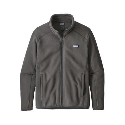 Patagonia Boys Radiant Flux Fleece Jacket Grey_fge
