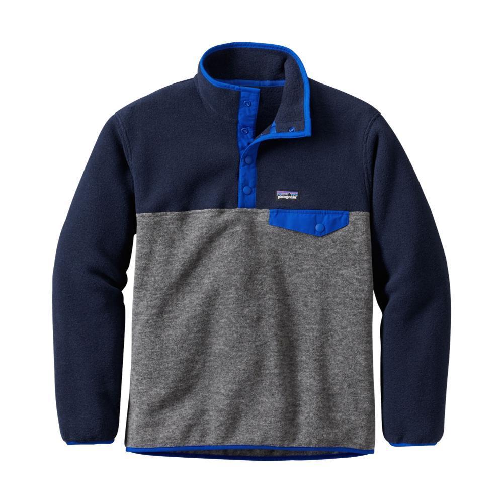 Patagonia Boys Lightweight Synchilla Snap-T Pullover NICKELNKL