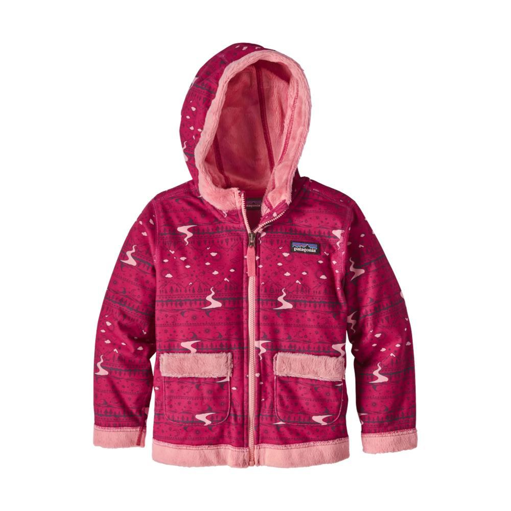 Patagonia Baby Fuzzy Lop Hoody PINKFXCP