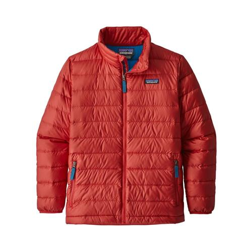 Patagonia Boys Down Sweater Jacket Fire_fre