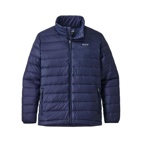 Patagonia Boys Down Sweater Jacket Navy_cny