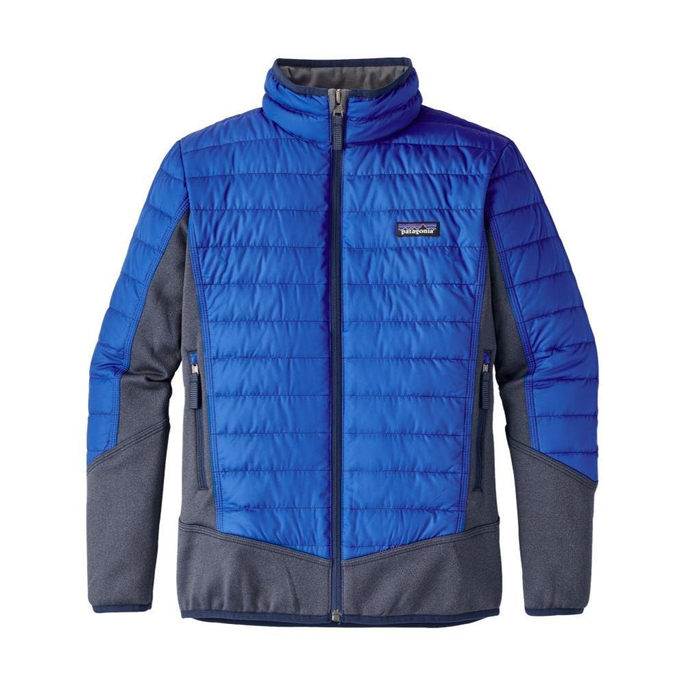 Patagonia Boys Down Hybrid Jacket BLUEVIK