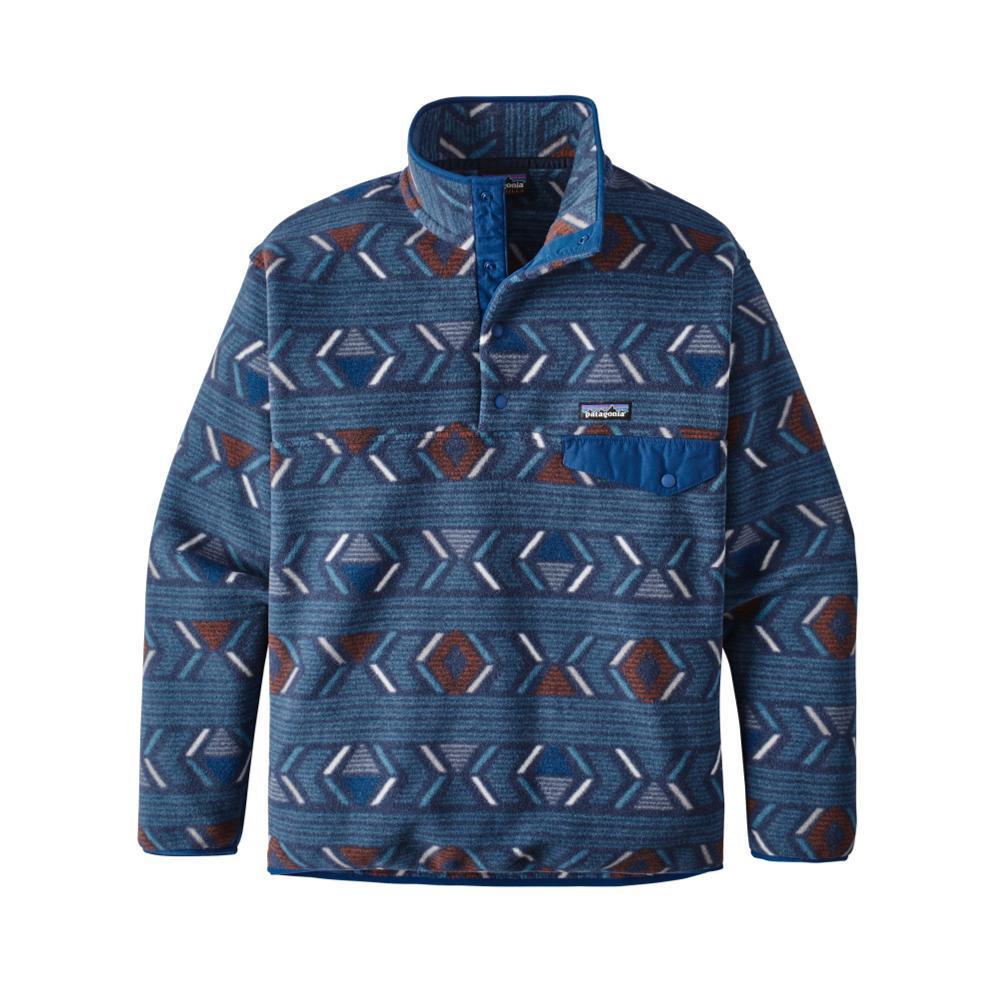 Patagonia Men's Synchilla Snap-T Fleece Pullover LFGB_BLUE