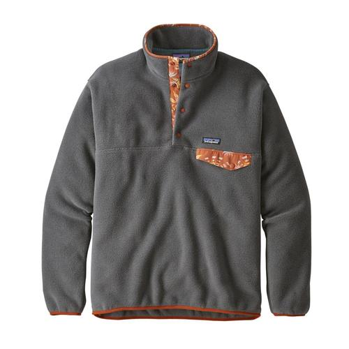 Patagonia Men's Lightweight Synchilla Snap-T Fleece Pullover Fge_grey