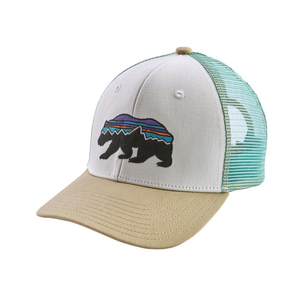 Patagonia Kids Trucker Hat KHWHITE_FRWH
