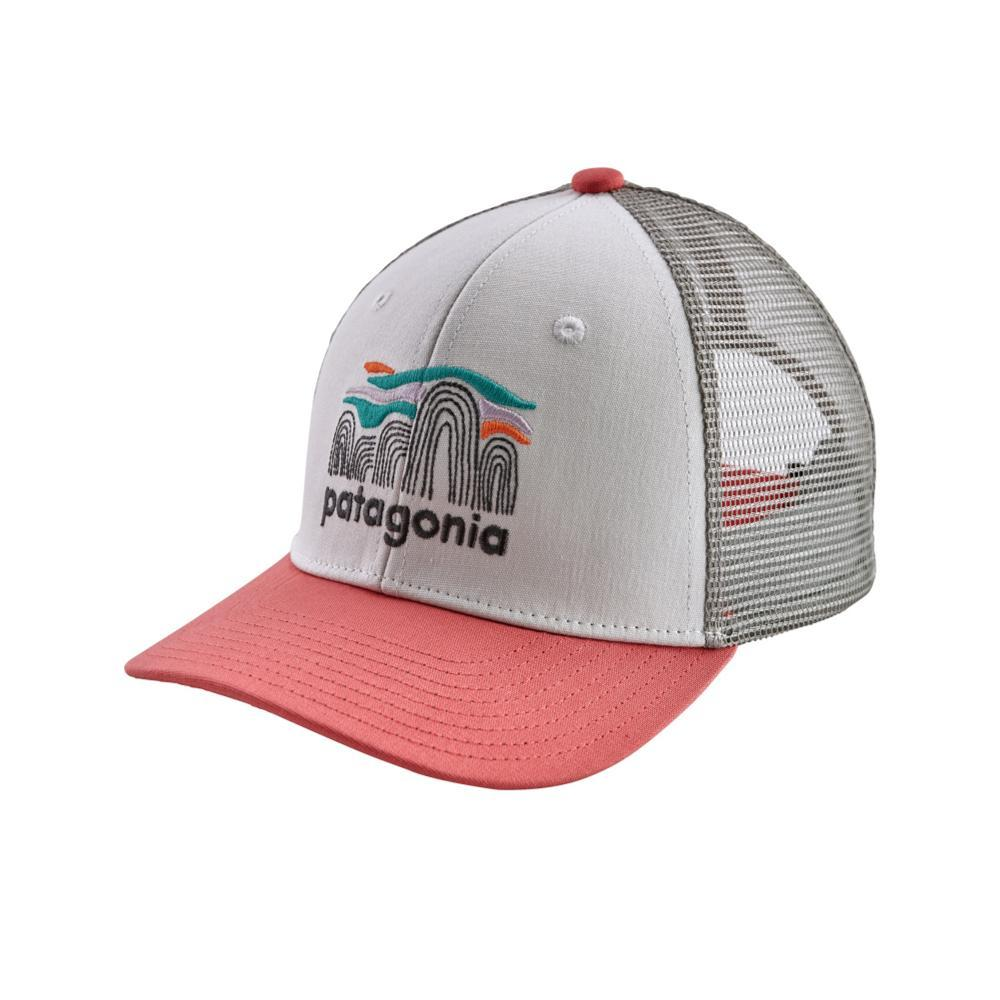 Patagonia Kids Trucker Hat WHITE_FRBW