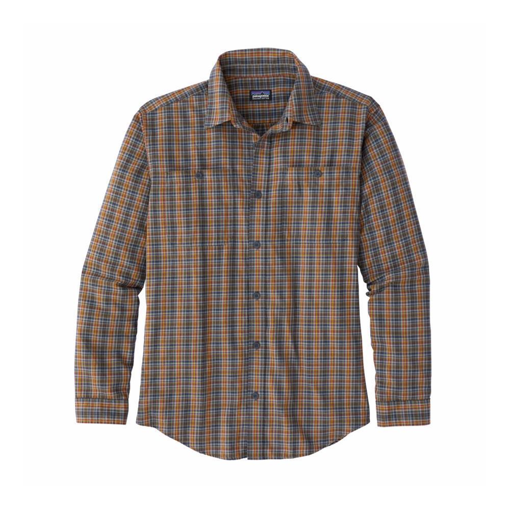 Patagonia Men's Long-Sleeved Organic Pima Cotton Shirt IYSB_BLUE