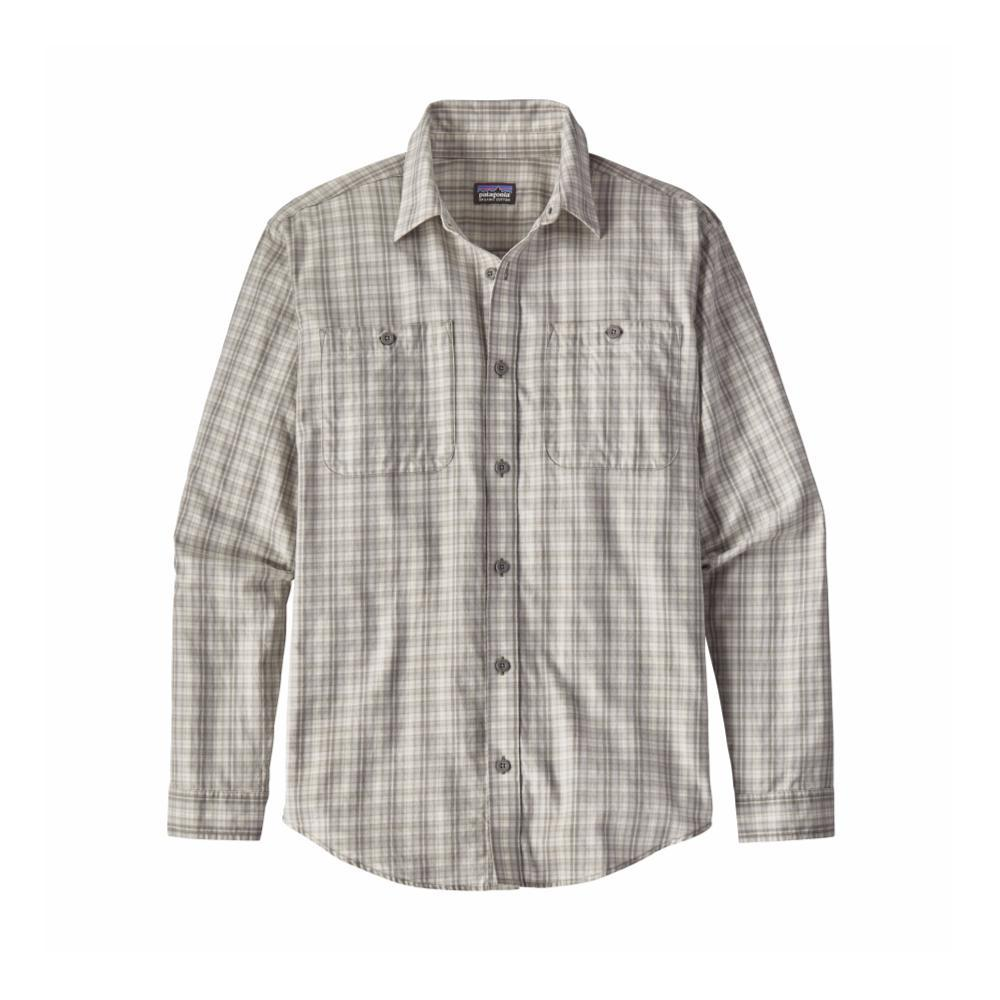 Patagonia Men's Long-Sleeved Organic Pima Cotton Shirt IYTG_GREY