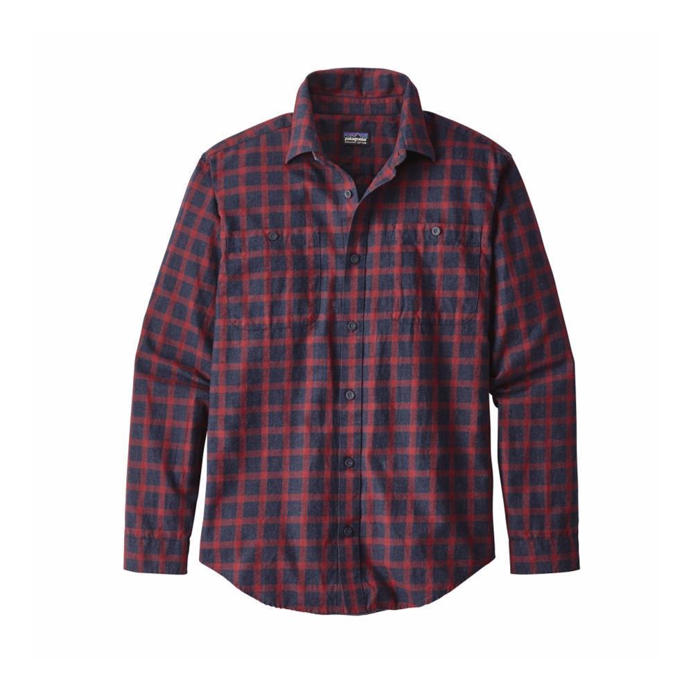 Patagonia Men's Long-Sleeved Organic Pima Cotton Shirt LPNB_BLUE