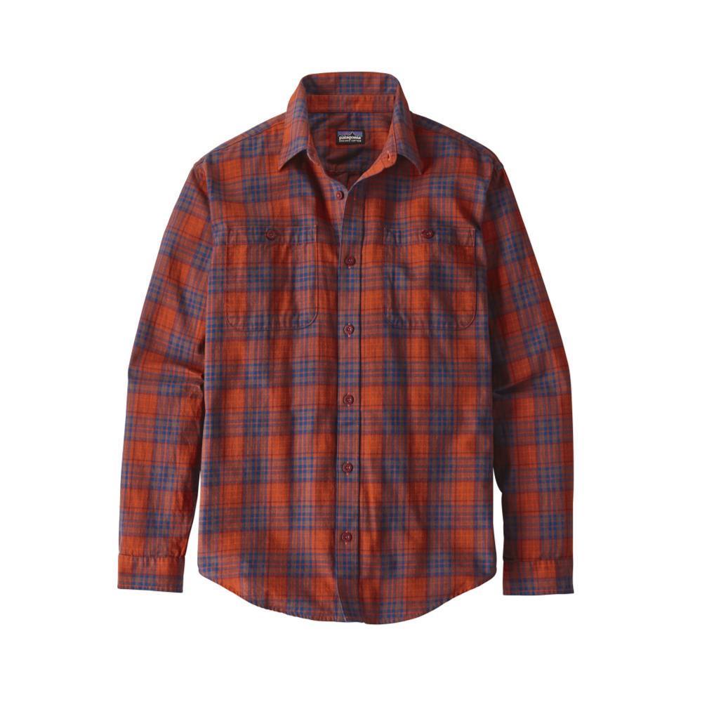 Patagonia Men's Long-Sleeved Organic Pima Cotton Shirt RMPR_RED