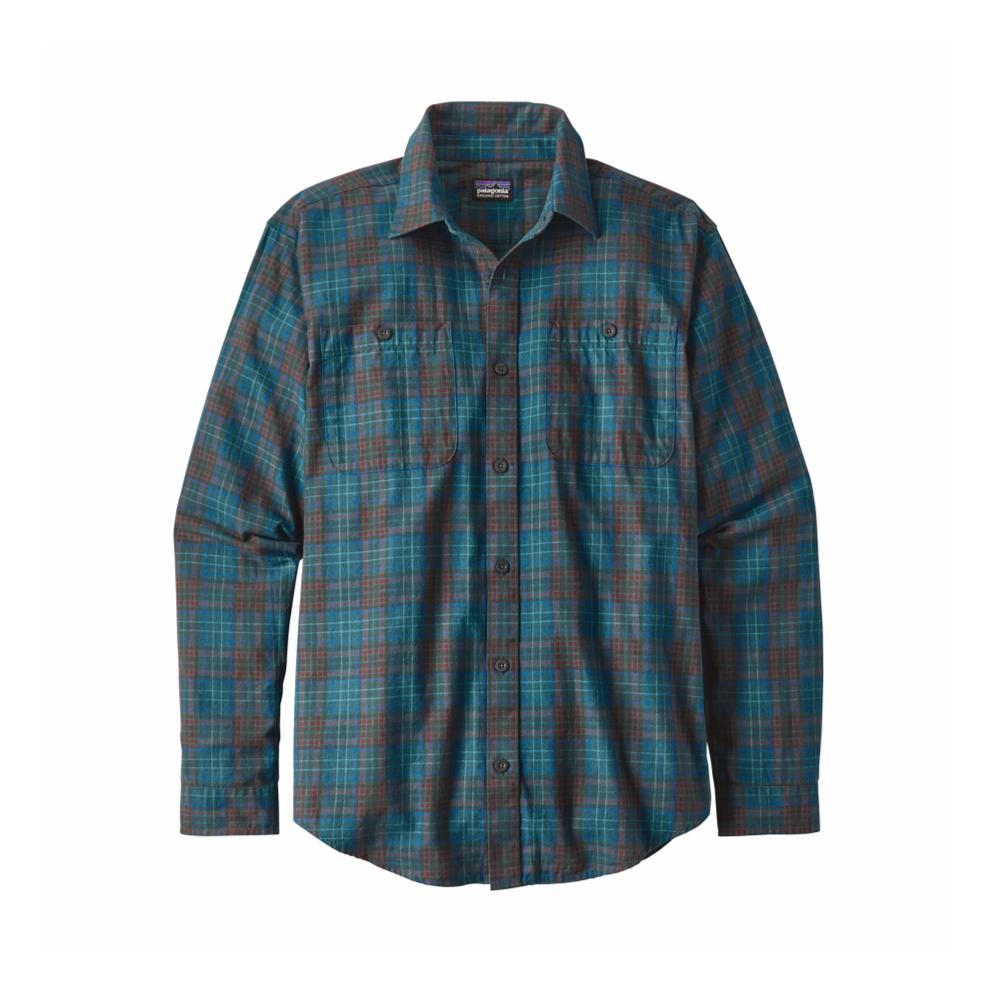 Patagonia Men's Long-Sleeved Organic Pima Cotton Shirt RVEB_BLUE