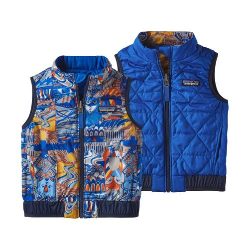 Patagonia Toddler Reversible Puff-Ball Vest
