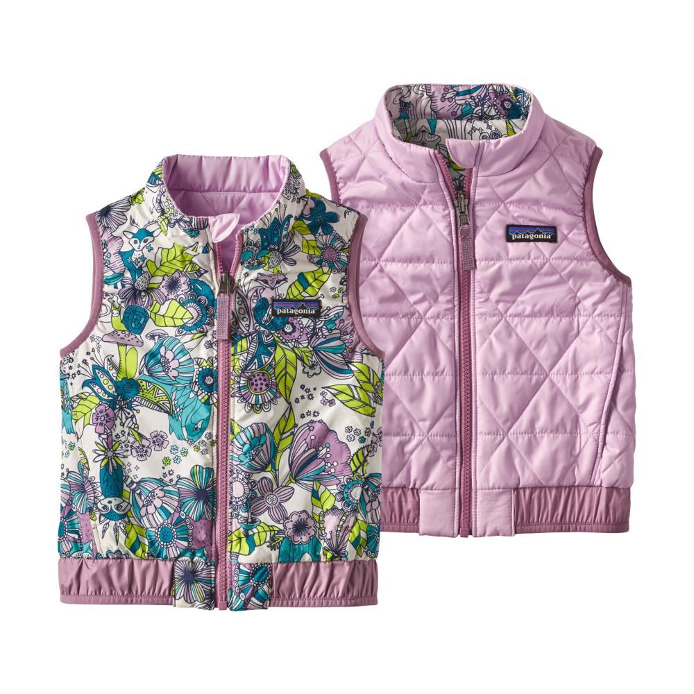 Patagonia Toddler Reversible Puff-Ball Vest PRPLCUBW
