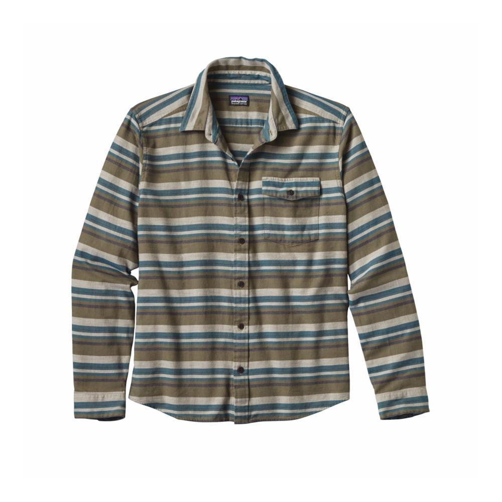 Patagonia Men's Lightweight Fjord Flannel Shirt ABIG_GREEN