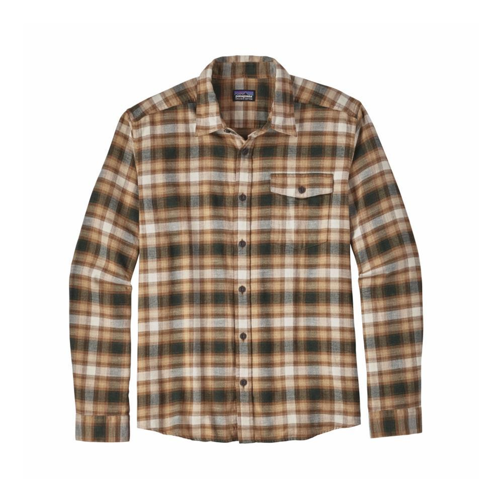Patagonia Men's Lightweight Fjord Flannel Shirt RVVB_BROWN