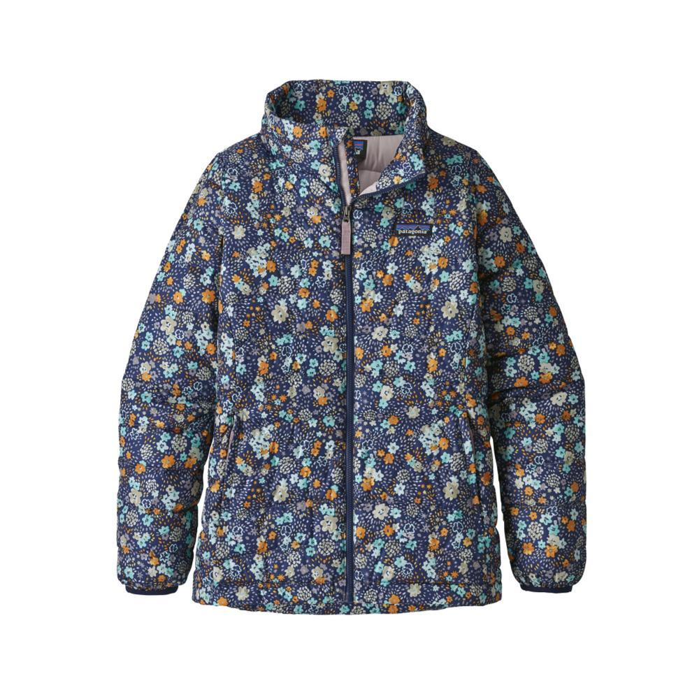 Patagonia Girls Down Sweater Jacket VGREEN_UDVG