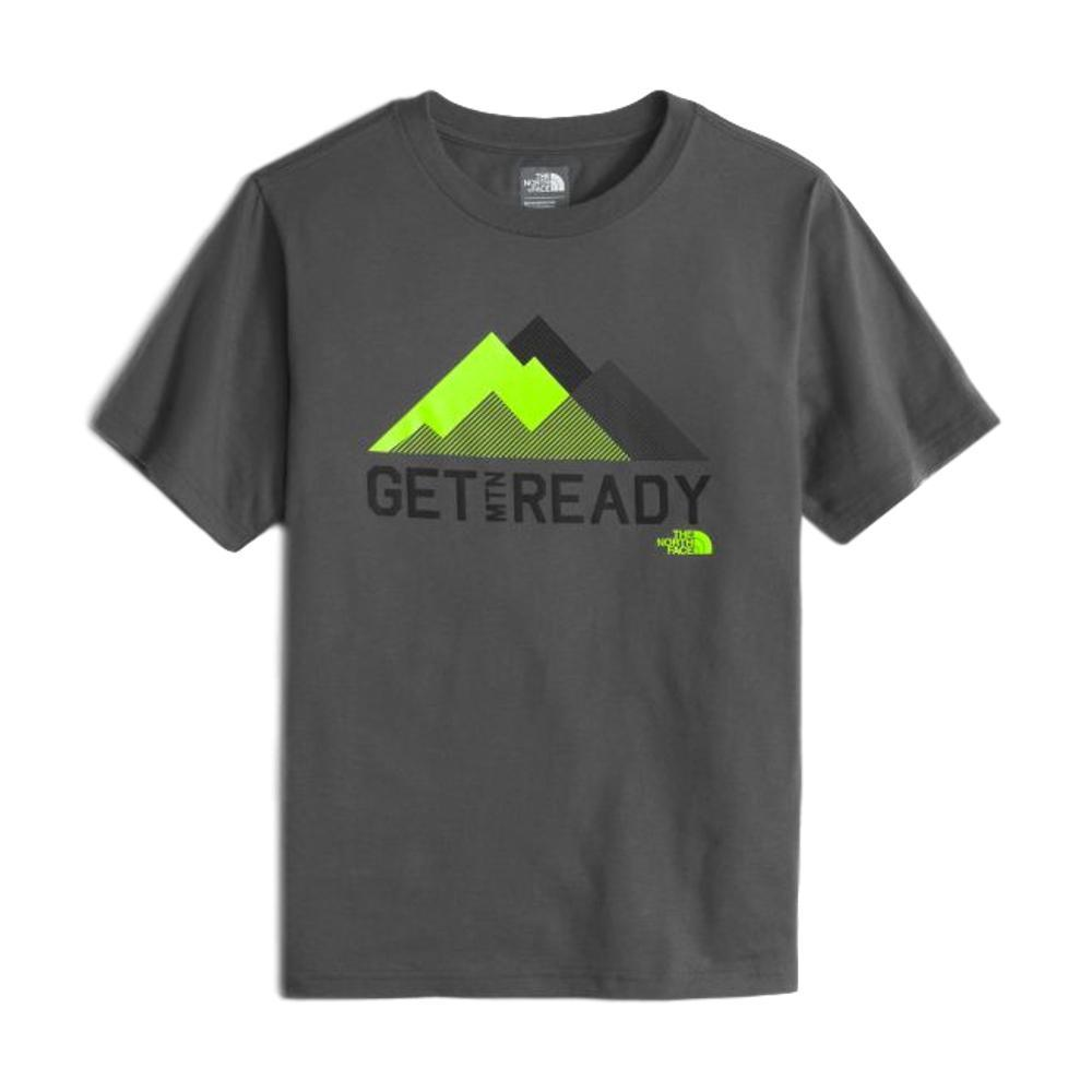 The North Face Boys Short Sleeve Graphic Tee GGREY_044