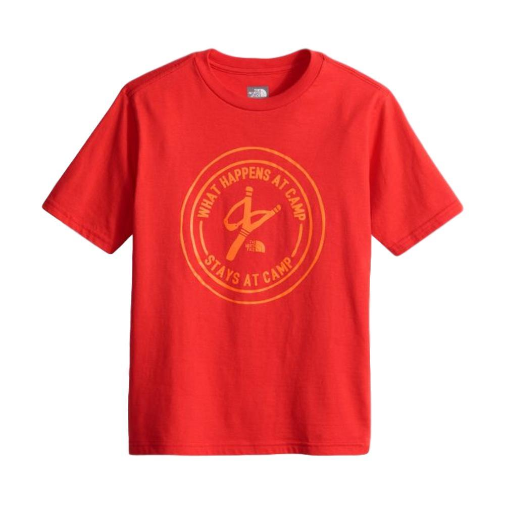 The North Face Boys Short Sleeve Graphic Tee HIGRED_HCL