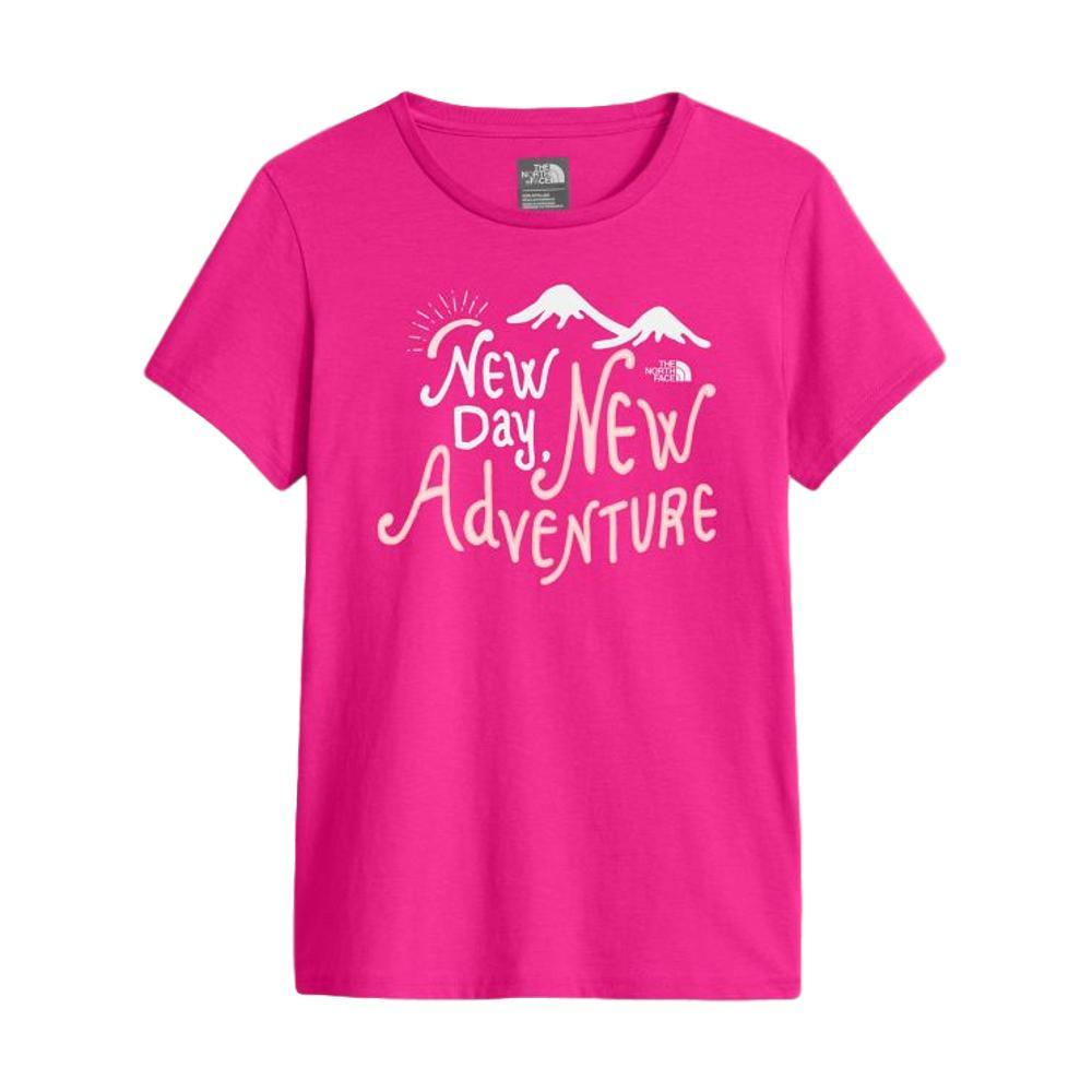 The North Face Girls Short Sleeve Graphic Tee PINK_79M