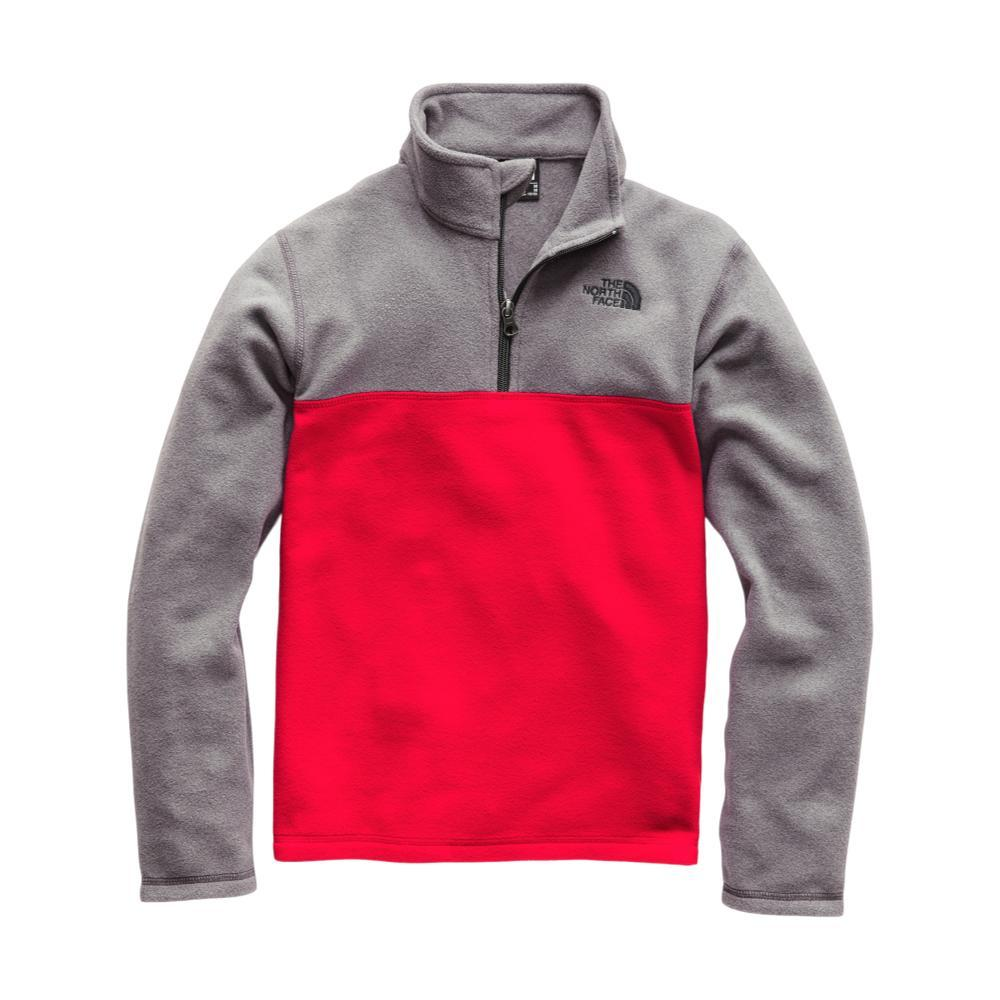 The North Face Boys Glacier 1/4 Zip REDGRY_MQK