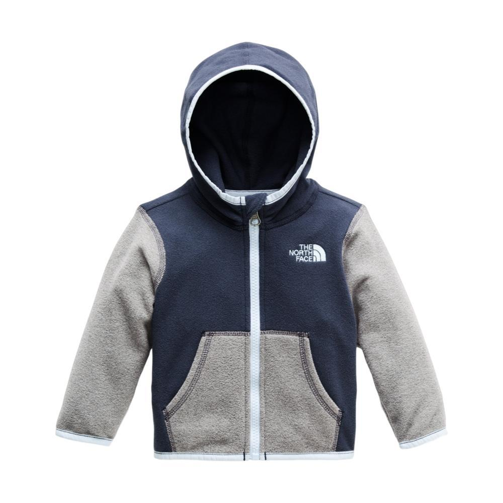 The North Face Infant Glacier Full Zip Hoodie GRYBLUE_6SN