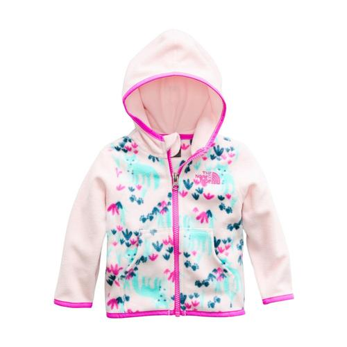 The North Face Infant Glacier Full Zip Hoodie Pinkfox_5lw