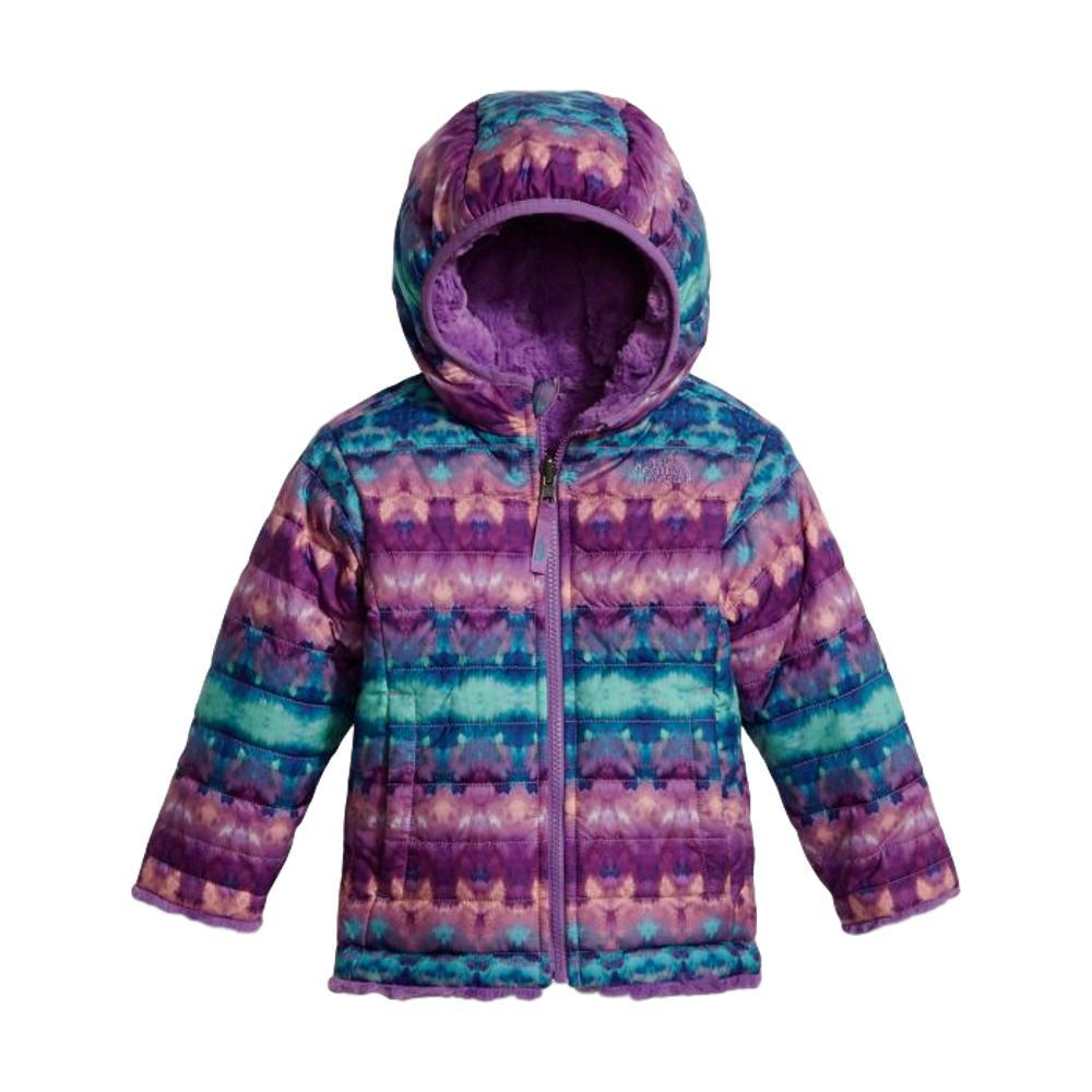 The North Face Toddler Girls Reversible Mossbud Swirl Jacket BLUFRISLEVLY