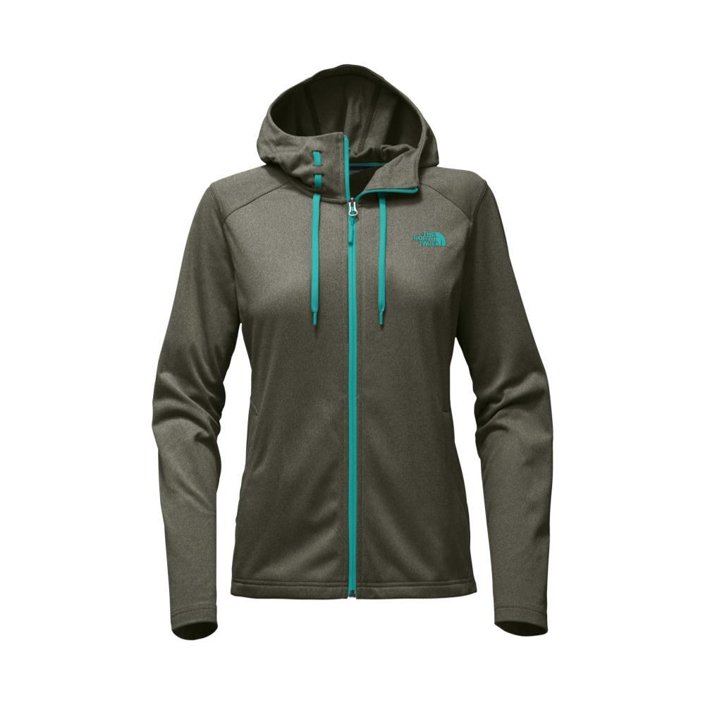 The North Face Women's Tech Mezzaluna Hoodie GRPLEAF_HSG