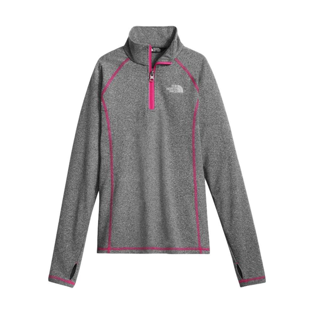 The North Face Girls Pulse 1/4 Zip GREY_DYY