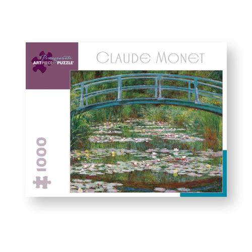 Pomegranate Claude Monet: Japanese Footbridge 1,000-Piece Jigsaw Puzzle